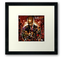 """RAP CITY RIP"" Framed Print"