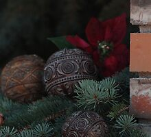 Old World Feel of Christmas by Brenda Roy