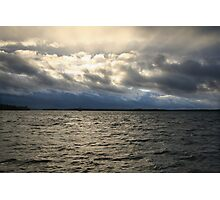 Strom Clouds Photographic Print