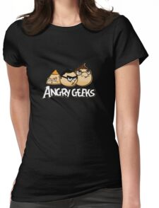 angry geeks Womens Fitted T-Shirt
