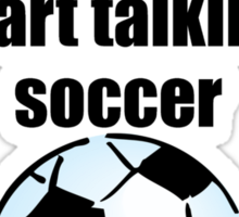 Spontaneous Soccer Talk Sticker