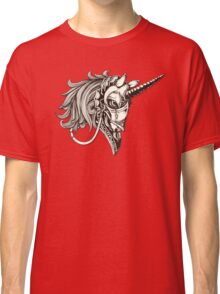 Steampunk Unicorn Fantasy Classic T-Shirt