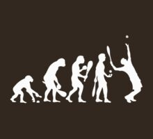 evolution tennis by raphaelburton
