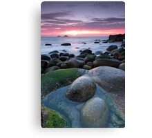 Porth Nanven Sunset Canvas Print