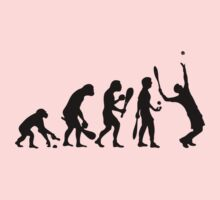 evolution tennis by raphaelburton