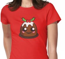 Pudding Womens Fitted T-Shirt