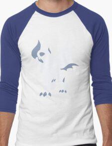 Mega Absol Minimalist Men's Baseball ¾ T-Shirt