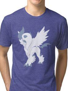 Mega Absol Minimalist Tri-blend T-Shirt