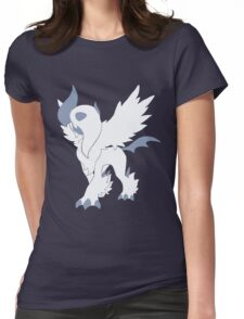 Mega Absol Minimalist Womens Fitted T-Shirt