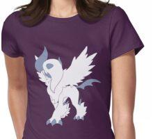 Mega Absol Minimalist Womens Fitted T-Shirt