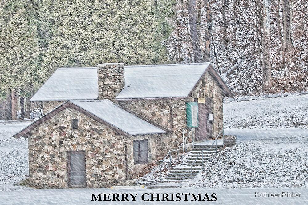 Merry Christmas Card by KathleenRinker