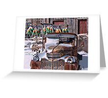 Vintage Chevrolet Greeting Card