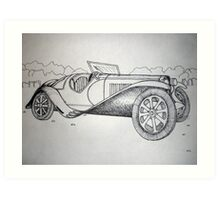 Automobile Art Print
