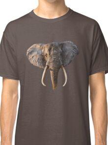 Elephant Face Classic T-Shirt