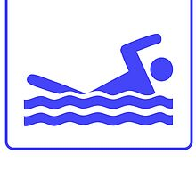 Swimming Icon by kwg2200