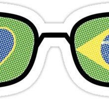 lunette brazil Sticker