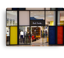 Paul Smith Vs. Pete Mondrian Canvas Print