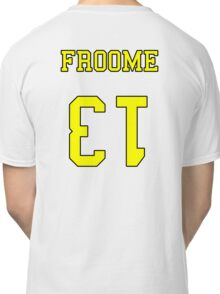 Froome 13 Jersey Classic T-Shirt