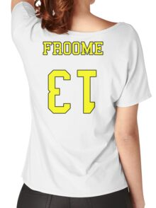 Froome 13 Jersey Women's Relaxed Fit T-Shirt