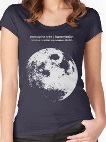 Moonloop - Porcupine Tree Women's Fitted Scoop T-Shirt