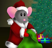 Merry Christmas Mouse by jkartlife