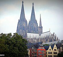 Cologne Cathedral by Thad Zajdowicz