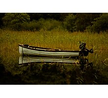 Boat Reflection Photographic Print
