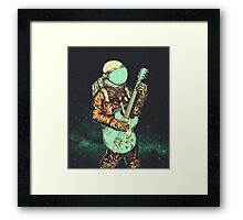 alone in my space Framed Print