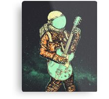 alone in my space Metal Print