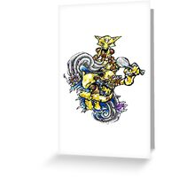 Abra, Kadabra, Alakazam! Greeting Card