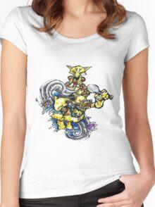 Abra, Kadabra, Alakazam! Women's Fitted Scoop T-Shirt