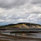 A Walk on the Beach - Lyme Regis by Ellesscee