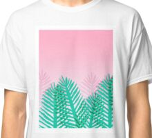 So Fine - palm springs abstract neon 1980s style retro throwback art with palm indoor house plant  Classic T-Shirt