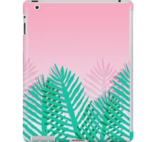 So Fine - palm springs abstract neon 1980s style retro throwback art with palm indoor house plant  iPad Case/Skin