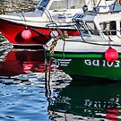 Fishing Boats At The Harbour by Susie Peek
