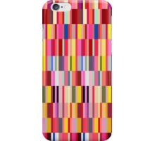 Colorful geometric shapes iPhone Case/Skin