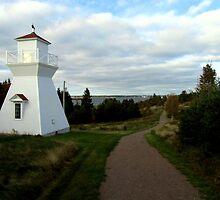 Warren Cove Rear Range (Lighthouse) by Kathleen Daley
