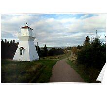 Warren Cove Rear Range (Lighthouse) Poster