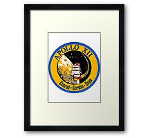 Apollo XII patch Framed Print
