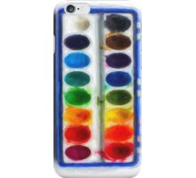 Watercolor set for iphone - drawing iPhone Case/Skin