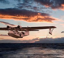 Catalina PBY  - Westering Home by warbirds