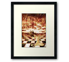 LUX DEMONIA Framed Print