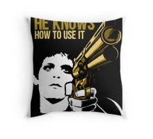 Carrying a Gun Throw Pillow