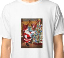 Santa`s Christmas Tree Classic T-Shirt