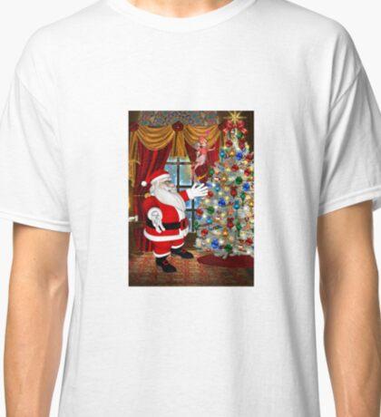 Santa`s Christmas Tree Classic T-Shirt