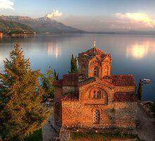 St. Jovan Kaneo, Ohrid by benjamin-hodges