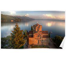 St. Jovan Kaneo, Ohrid Poster