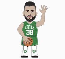 NBAToon of Vitor Faverani, player of Boston Celtics by D4RK0
