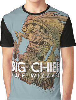 Big Chief Wulf Wizzard Graphic T-Shirt