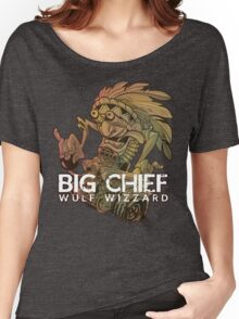 Big Chief Wulf Wizzard Women's Relaxed Fit T-Shirt